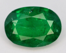 1.65 ct Natural Vivid Green Color Emerald~Swat