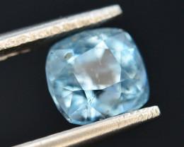 1.40 ct Natural Fancy Cut Attractive Color Aquamarine