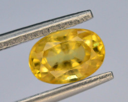 Top Clarity & Color 1.15 ct Rarest Yellow Sapphire~Sri Lanka