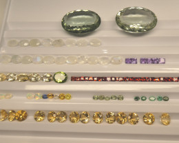 500cts+ Mixed Gem Beginner Lot: Ruby, Sapphire, Peridot, Amethyst, Emerald