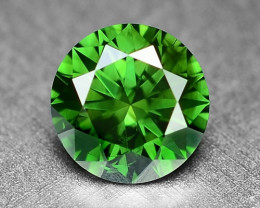 0.32 Cts  Sparkling Rare Fancy Intense Green Color Natural Loose Diamond