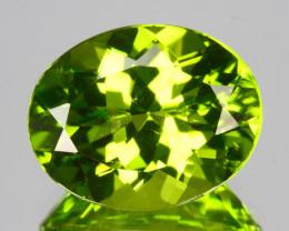 Dazzling!!! 4.75 Cts Natural Peridot Stunning Green Oval Pakistan