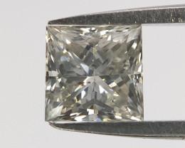Loose Natural Diamond , Princess Cut , 0.29 cts