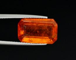 6.70 Ct Natural Orange Color Spessartite Garnet Gemstone