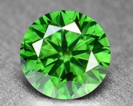 0.40 Cts Sparkling Rare Fancy  Green Color Natural Loose Diamond