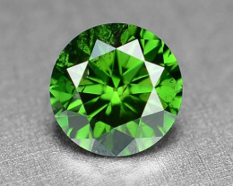 0.33  Cts Sparkling Rare Fancy  Green Color Natural Loose Diamond
