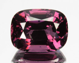 3.48 Cts Natural Purplish Pink Spinel Cushion Cut Sri Lanka