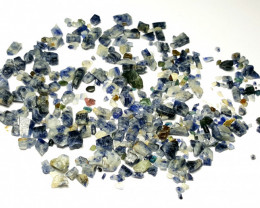 Amazing Natural Blue color Sapphire crystals rough lot 170 Cts-A