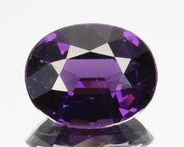 2.34 Cts Natural Beautiful Purple Spinel Oval Cut Sri Lanka