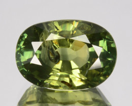 4.95 Cts Natural Green Sapphire Oval Cut Madagascar