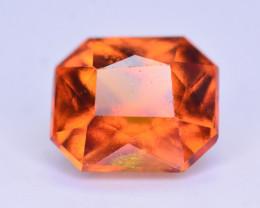 Superb Color 3.40 Ct Natural Hessonite Garnet. RA