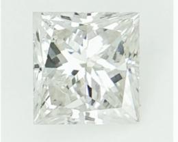 Loose Natural Diamond , Princess Cut , 0.24 CTS