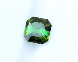 2.65 Ct Natural Green Transparent Tourmaline Gemstone