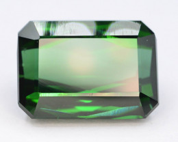 Top Color 10.30 Ct Lagoon Green Tourmaline From Afghanistan