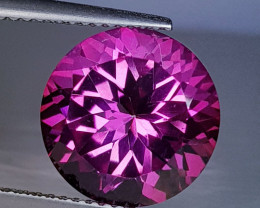 7.68 ct AAA Quality Gem Stunning Round Cut Natural Pink Topaz