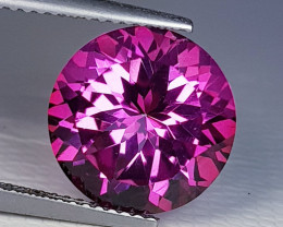 7.87 ct AAA Quality Gem Stunning Round Cut Natural Pink Topaz