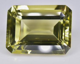 11.45 Crt Lemon Quartz  Faceted Gemstone (Rk-5)
