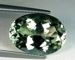9.35 ct Top Quality Fantastic Oval Cut Natural Green Amethyst
