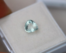 1.04ct Natural Blue Aquamarine Pear Cut Lot GW5392