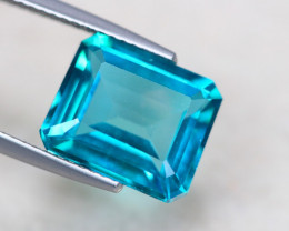 6.21Ct Natural Green Topaz Octagon Cut Lot GW5395