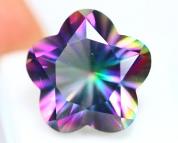 26.68Ct Natural Mystic Topaz Fancy Star Cut Lot GW5402