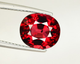 Rare 4.35 Ct Superb Color Natural Mahenge Garnet