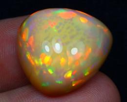 26.08Ct Natural Bright 5/5 Ethiopian Welo Snake Skin Pattern Opal AN06