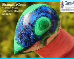 25mm Azurite Malachite Chrysocolla Morenci Mine Arizona 30ct