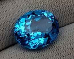 21.35CT BLUE TOPAZ BEST QUALITY GEMSTONE IIGC104