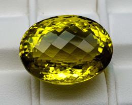 30.45Crt Lemon Quartz  Natural Gemstones JI92