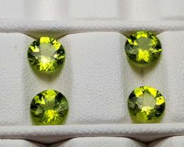 3.3Crt Peridot Lot  Natural Gemstones JI92