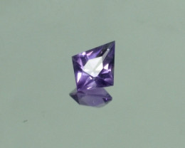 Master Cut Rose De France Kite Shape Amethyst Gemstone Cut by Master Cutter