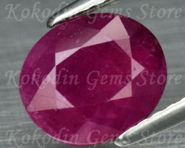 Natural Ruby Unheated 2.245 ct Unheated Untreated LOT-557
