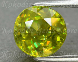Natural Green Sphene 1.295 ct LOT-558