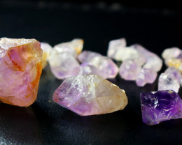252.30 CT Unheated ~ Natural Purple color Amethyst Rough lot