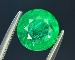 Top Color & Clarity 1.90 ct Panjshir Emerald~Afghanistan AS