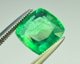 Top Color & Clarity 2.40 ct Panjshir Emerald~Afghanistan AS