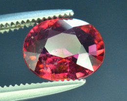 Top Color 1.25 ct Malawi Raspberry Pink Umbalite Garnet