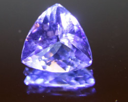 Tanzanite 2.45ct Trillion D Block High Grade
