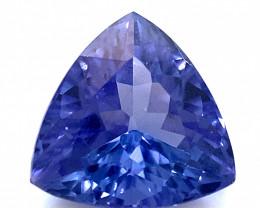 Tanzanite 2.45ct Trillion D Block High Grade