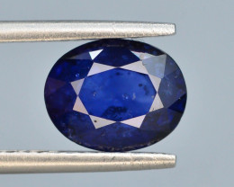 CIGTL ~ Certified ~2.40 Natural Untreated Blue Color Sapphire T
