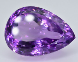 28.70Crt Natural Amethyst Faceted Gemstone.( AB 35)