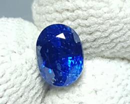 CERTIFIED 1.12 CTS NATURAL STUNNING OVAL MIX ROYAL BLUE SAPPHIRE SRI LANKA