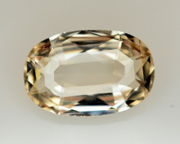 7.35 Ct Natural Peach Color Imperial Topaz