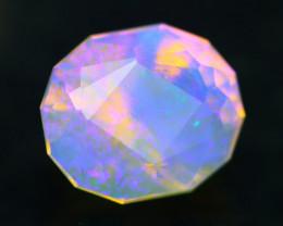Lightning Ridge Opal 2.44Ct Natural Australian Faceted Crystal Opal BN81