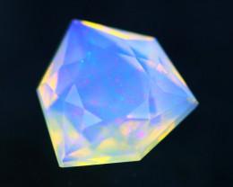 Lightning Ridge Opal 0.76Ct Natural Australian Faceted Crystal Opal BN84