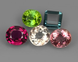 3.50 CTS-ALLURING FANCY TOURMAILNE BEST COLORS