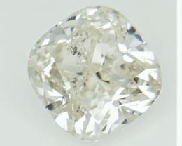 Solitaire Diamond , fancy cut diamond,fancy color diamond 0.98cts