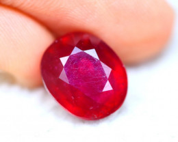 Ruby 7.54Ct Madagascar Blood Red Ruby ER04
