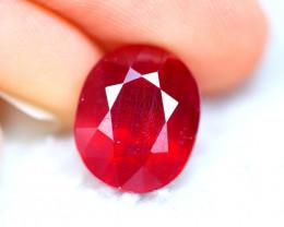 Ruby 7.44Ct Madagascar Blood Red Ruby ER05